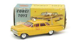 Corgi Toys NYC Taxi Chevrolet Impala  by Andrew Hill