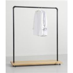 Broadway Collection Clothing Rack (Distressed Pine). AcmeDisplay.com