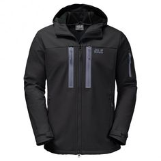 Jack Wolfskin Northern Star softshell heren black