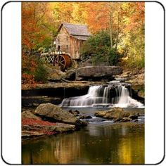 My beautiful WV. Autumn at the Glade Creek Grist Mill in the Babcock State Park, West Virginia; photo by . Fall Pictures, Nature Pictures, West Virginia, Beautiful World, Beautiful Places, Simply Beautiful, Landscape Photography, Nature Photography, Photography Tips