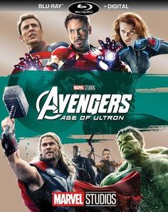 Avengers: Age of Ultron [Includes Digital Copy] [Blu-ray] [2015]