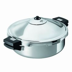 Kuhn Rikon Duromatic Family Style Pressure Cooker Braiser 5 Quart. Expensive and worth every penny it's my ★★★★★ favorite!
