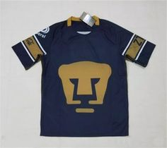 Pumas Unam 2017-18 Season Away Navy Liga MX Jersey [K452]