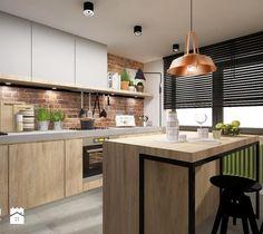Wystrój wnętrz - Kuchnia - styl Rustykalny. Projekty i aranżacje najlepszych designerów. Prawdziwe inspiracje dla każdego, dla kogo liczy się dobry gust i nieprzeciętne rozwiązania w nowoczesnym projektowaniu i dekorowaniu wnętrz. Obejrzyj zdjęcia!