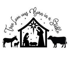Welcome to the Silhouette Design Store, your source for craft machine cut files, fonts, SVGs, and other digital content for use with the Silhouette CAMEO® and other electronic cutting machines. Christmas Vinyl, Christmas Nativity, Christmas Projects, Holiday Crafts, Xmas, Nativity Silhouette, Silhouette Clip Art, Silhouette Design, Cricut Creations
