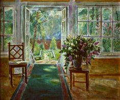 Веранды в живописи Painting, Lilacs, Image, Exhibitions, Style, Swag, Painting Art, Lilac, Paintings