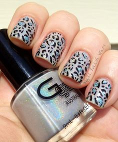 Stiff as a Board  #nails #nailart