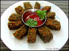 Kothimbir Vadi   Spicy-Aroma