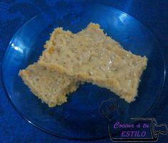 Receta disponible en: http://cocinaatuestilo.blogspot.com/2016/07/barras-de-avena-y-leche-condensada.html