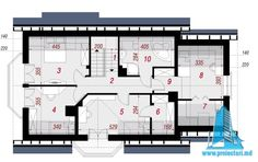 Casa de locuit cu parter, mansarda si garaj | Proiectari si Constructii Floor Plans, Model, Motor Car, Mathematical Model, Scale Model, House Floor Plans, Models, Floor Plan Drawing