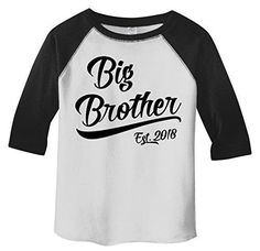 3b03537f Personalized Boys Big Brother TShirt - This big brother shirt is perfect to  get your son