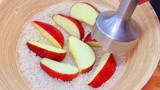 Whisk the Rice 🍚 with Apple ❗No flour,No oil😲 Tasty and healthy breakfast recipe. - YouTube Healthy Breakfast Recipes, Cheese, Youtube, Food, Rice, Apple, Bakken, Essen, Meals