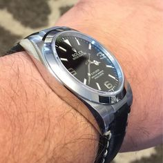 We saw this post on Rolexforums from one of our customers. The angle is perfect on this Explorer I to show just how perfect the Everest Steel End Links are to a Rolex case. Learn more online at www.everestbands.com