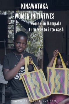 The Kinawataka Women Initiatives helps vulnerable women by teaching them how to create products from recycled drinking straws and paying fair wages. By buying their beautiful products, you'll help them continue to support marginalised women and have a positive impact on the environment. #ethicaltravel #sustainabletravel #impacttravel #giveback #womenempowerment