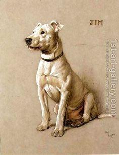 Cecil Charles Aldin:Jim, a Bull Terrier