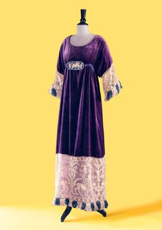 Poiret afternoon dress, 1911. From Piasa.