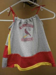 cardinals dress @gopokes724 We need to look for an old tshirt to make this with!