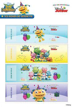 (site, imprimables et textes en français) Henry Hugglemonster, Disney Junior, Decoration, Party Themes, Disney Parties, Activities, Birthday, Diy, Party