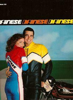 Pubblicità motociclistiche anni 70