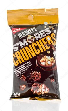 Package of food - Stock Photo , Chocolate Pack, Hershey Chocolate, Graham Cookies, Photo Packages, Mini Marshmallows, Packaging, Stock Photos, Snacks, Food