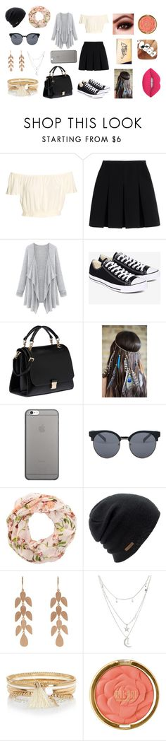 """""""Perfect Outfit"""" by alexysssantos on Polyvore featuring Alexander Wang, Converse, Miu Miu, Native Union, Quay, New Look, Coal, Irene Neuwirth, Charlotte Russe and River Island"""