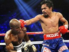 Timothy Bradley defeats Manny Pacquiao at MGM Grand in Las Vegas.  Not.  Pacman was robbed.  Boxing is sooooo corrupt.