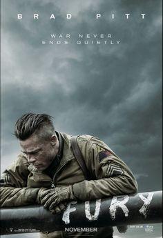 Fury - November 14th, 2014. Brad Pitt :D