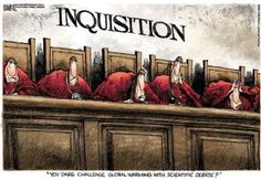 The new Inquisition Written by Thomas Sowell, Arkansas Online on 16 April 2015. http://www.climatechangedispatch.com/the-new-inquisition-2.html