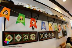 Customized Party Decorative Flags Looney Tunes Theme x 30 by ParteeBoo, $22.00