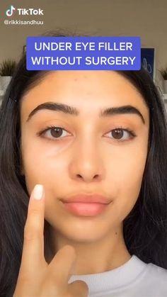 Makeup Hacks Videos, Makeup Tips, Beauty Makeup, Contour Makeup, Skin Makeup, Maquillage On Fleek, Everyday Makeup Tutorials, Makeup Looks Tutorial, Creative Eye Makeup