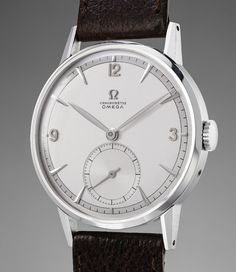 The first Omega timepiece to surpass Swiss Francs 1 million at an auction http://www.timeandwatches.com/2017/11/highlights-from-fall-geneva-auctions.html