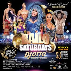 South Florida… BAILO NIGHTCLUB SATURDAY is Here This Saturday March 4th We bring you the Sexiest and BIGGEST PARTY in Town. Live The Lifestyle, Let The Party Beads Come Out, Oil Up & Wear Your Sexiest Outfit because VALERIA COUTIER will be in the House. DJ OTTO P will Spin a Super Seductive Set Infused with House, Latin & Drum Beats Straight From Heaven.  And of Course The The Queen MARYTRINI alongside ADORA and The HOTTEST Dancers and Bartenders from all around the world. Doors Open at…