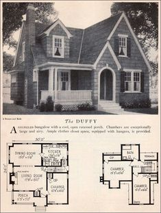 find this pin and more on houses - English Cottage House Plans