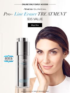 Psst! ANEW Pro-Line Eraser has a New Formula! March 21–27th get early access at my eStore! #AvonRep