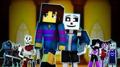 """Judgement"" | Minecraft Undertale Music Video [GENOCIDE] (Song by TryHar... Undertale Music, Undertale Gif, Undertale Youtube, Youtube N, Minecraft Songs, Top Videos, Funny Videos, Amazing Minecraft, Hama Beads"