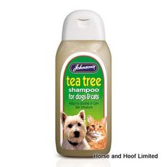 JVP Tea Tree Dog Shampoo 200ml JVP Tea Tree Shampoo is made with Aloe Vera to…