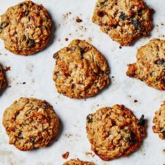 If you're into chewier oatmeal-raisin cookies, reduce baking time by 2 minutes. For crispier, flatten them out a bit before baking. This is part of BA's Best, a collection of our essential recipes.
