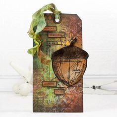 Ranger Ink Autumn Tag with Shari - Simon Says Stamp Blog