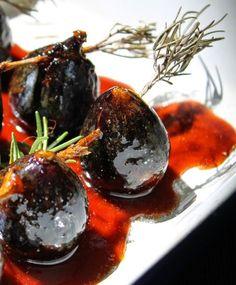 Diana's Cook Blog: Brochettes de figues caramélisées (recette de Gordon Ramsay)