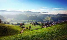 #emmental#langnau#switzerland#outdoor#walking#nature#enjoylife#autumn#colourful by maschmisch Swiss Style, Walking, Switzerland, Places Ive Been, Dolores Park, Shots, Outdoor, Autumn, Instagram Posts