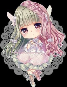 Image via We Heart It https://weheartit.com/entry/151025566 #anime #chibi #kawaii