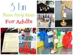 3 Fun Theme Party Ideas For Adults Adult Themes Parties House