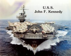 Supercarrier USS John F. Kennedy had Strange Experience Us Navy Aircraft, Navy Aircraft Carrier, Navy Military, Military Life, Military Service, Naval Aviator, Navy Carriers, Scale Model Ships, Go Navy