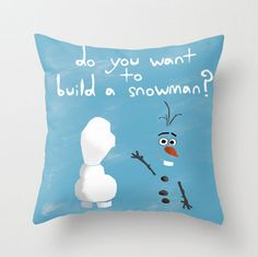 #olaf #frozen #pillow