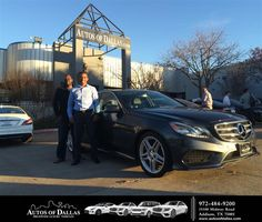 Happy Anniversary to Damola on your #Mercedes-Benz #E-Class from Jeff Thompson at Autos of Dallas!  https://deliverymaxx.com/DealerReviews.aspx?DealerCode=L575  #Anniversary #AutosofDallas
