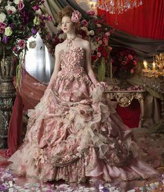Beautiful Gowns, Beautiful Outfits, Gorgeous Dress, Beauty And Fashion, Luxury Fashion, Fairytale Dress, Mode Inspiration, Dream Dress, Bridal Collection