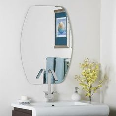 Frameless Freddie Wall Mirror *** Click image to review more details.