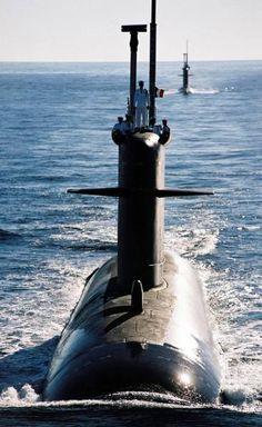Le sous-marin nucléaire d'attaque Rubis - © Marine nationale