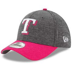 purchase cheap 79d0c 1bd24 Texas Rangers New Era Mother s Day 39THIRTY Flex Hat - Graphite