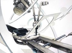 기초디자인 컴퍼스 Laszlo Moholy Nagy, Alexander Calder, Colorful Drawings, Drawing Techniques, Tatoos, Design Art, Texture, Illustration, Artwork